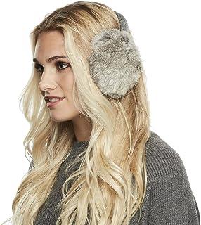 6caaaf17a7eca Women s Morningstar Rabbit Fur Ear Muffs