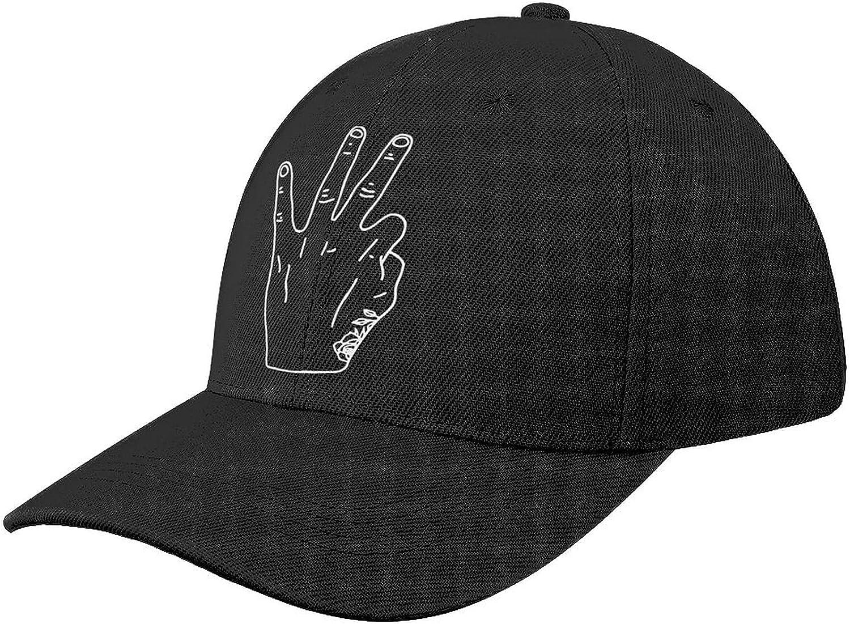 Daniel Ricciardo Hand RIC3 Baseball Cap Soccer Fans Dad Hat Sun Shade Peaked Trucker Hats Adjustable Caps for Men Women Black