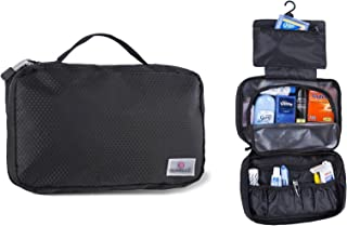 Suvelle Hanging Toiletry Travel Kit Organizer Cosmetic Bag