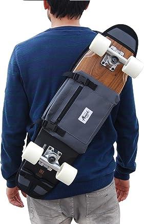 Noir Sac /à bandouli/ère pour emporter 7.5-8 planche /à roulettes sac banane cartouchi/ère rucksack sac /à dos