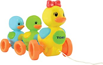 TOMY- Quack Along Ducks Patos Figuras Familia Patitos,, 10m+ (E4613)