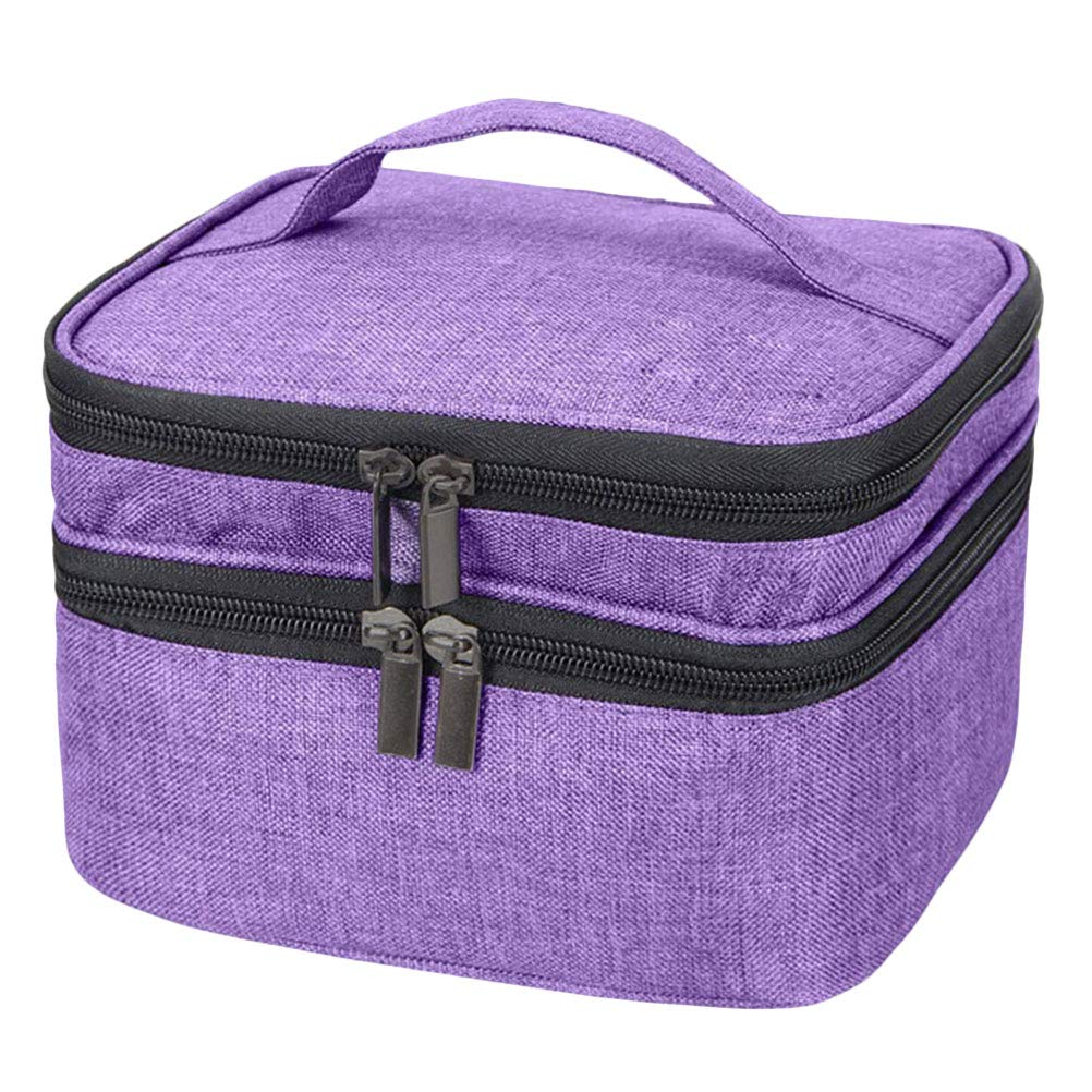 Essential Oils Selling rankings Carrying Case with Handle Polish High order Bag Nail Holds 3