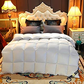 Cactuso Couette 220x240 4 Saisons,La qualité de la qualité de l'hôtel AB du Noyau est Une Couleur Unie-Blanche_180x220cm 3...