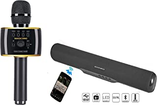 Magic Sing MP30 Mobile Karaoke with Mini Soundbar