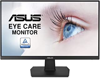 "ASUS VA24EHE 23.8"" Monitor 75Hz Full HD (1920x1080) IPS Eye Care HDMI D-Sub DVI-D"