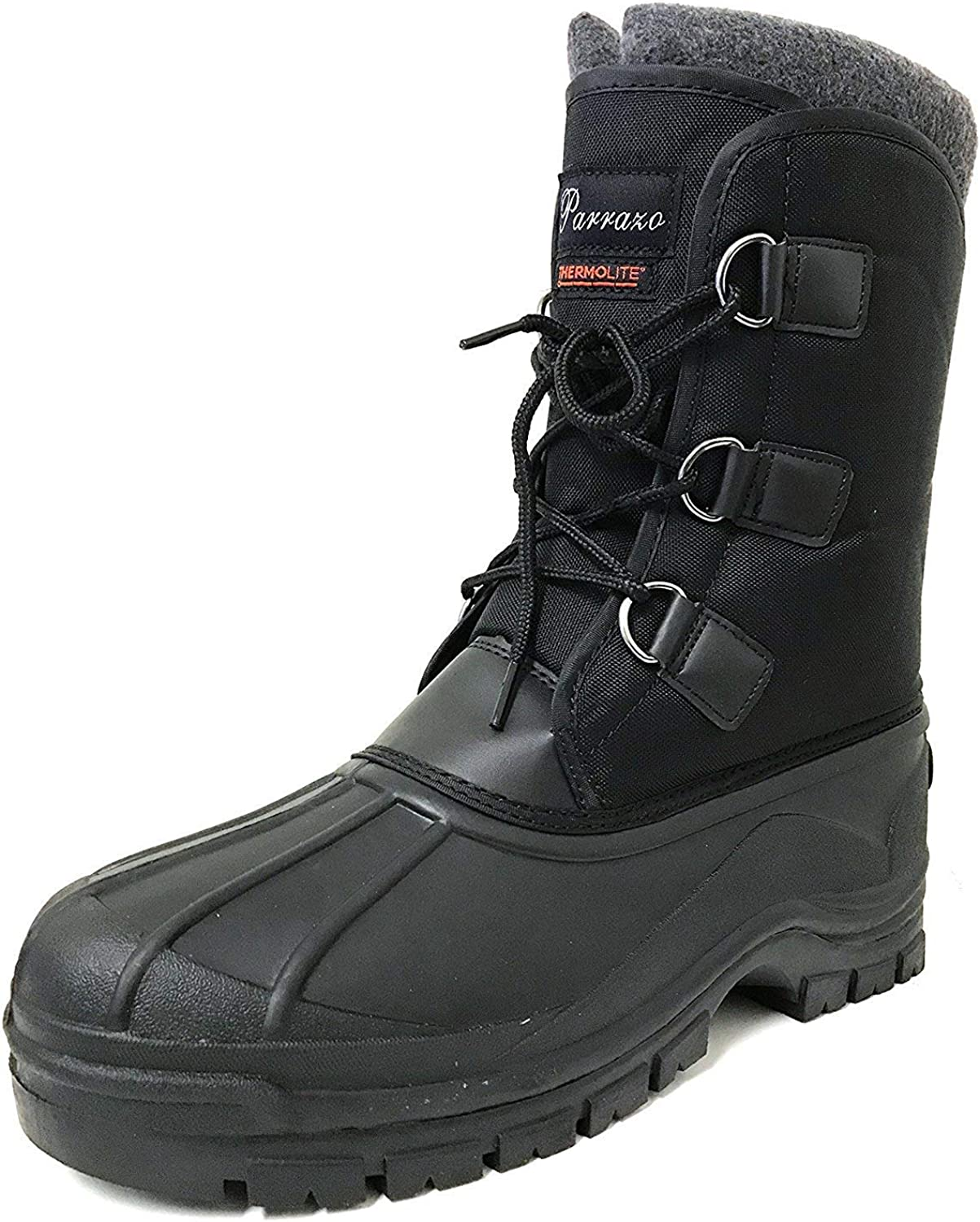G4U-Parrazo Alpine Mens Winter Snow Boot Heavy Duty Water Resistant Lace Up shoes