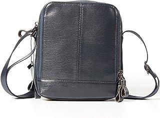 Shoulder Bags Genuine Leather Men's Bag Cowhide Casual Small Square Bag Black Fashion Messenger Bag 2L Men's Work Bag Outdoor Leather Bag