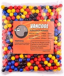 Vancool Profesional Plastic multicolor Slingshots Ammo 3/8