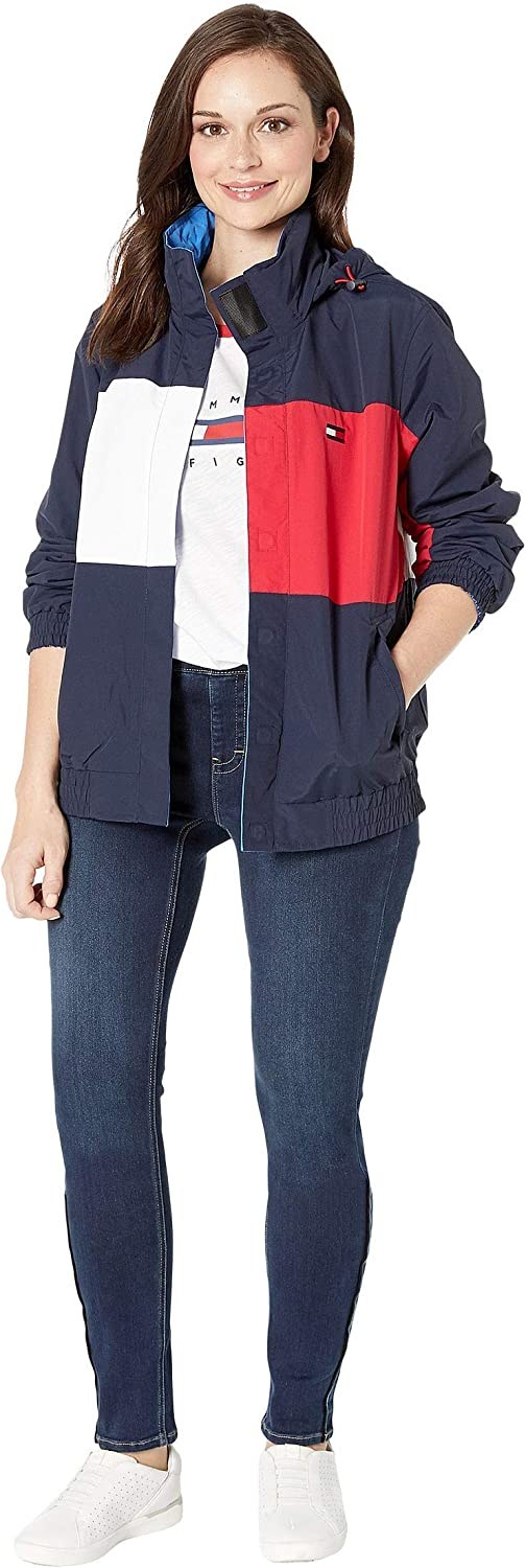 Tommy Soldering Hilfiger Women's Adaptive with Magnetic Super beauty product restock quality top! Reversible Jacket