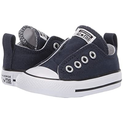 Converse Kids Chuck Taylor(r) All Star(r) Core Slip (Infant/Toddler) (Athletic Navy) Kids Shoes