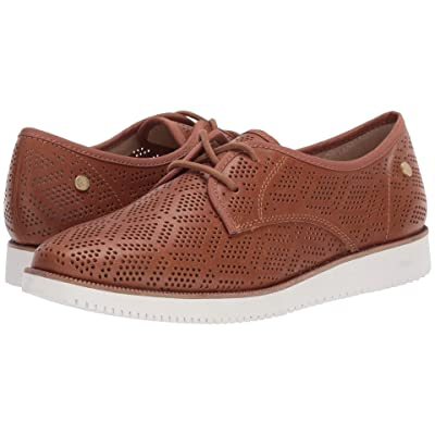 Hush Puppies Chowchow Perf Lace (Tan Leather) Women