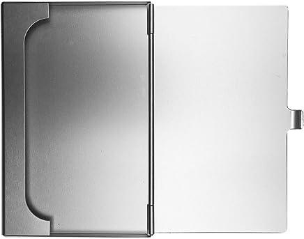 Premium Designer Visitenkartenetui Kreditkartenetui Visitenkartenh�lle Kreditkartenh�lle Business Card Case Box - 100% Aluminium - Masse 95x60x05mm - 24g