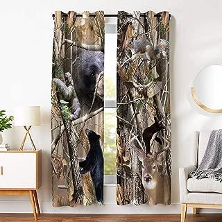 Best deer bedroom curtains Reviews