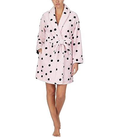 Kate Spade New York Chenille Wrap Robe (Pink Dot) Women