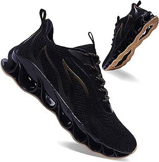 احذية رياضية من ابريل سبرينج للرجال - لممارسة الرياضة والجري وبتصميم مانع للانزلاق