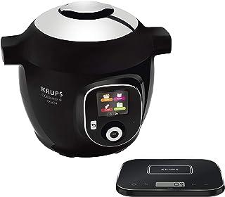 Krups Cook4Me+ Grameez CZ8568 1600 - Robot de cocina, color negro y gris