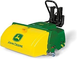 Rolly Toys 409716 rollyTrac Sweeper John Deere, Kehrmaschiene für Traktor rollyJunior, rollyFarmtrac, rollyFarmtrac Classic, rollyFarmtrac Premium, rollyX-Trac, rollyTruck Unimog, ab 3 Jahren