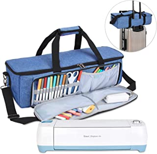 Luxja Carrying Bag Compatible with Cricut Die-Cutting Machine and Supplies, Tote Bag..