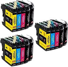 JIMIGO LC223 Cartuchos de Tinta Brother LC 223 Tinta Compatible para Brother J480DW J562DW J4420DW J5320DW J880DW J4620DW J4120DW (6 Negro, 3 Cian, 3 Magenta, 3 Amarillo)