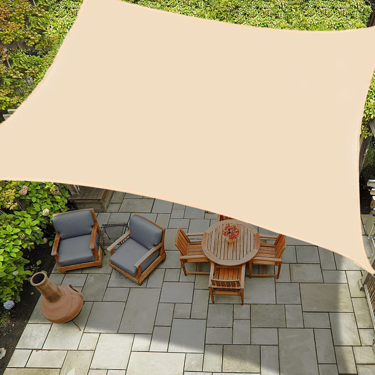 Spinosaurus Outdoor Waterproof Sun Excellence Shade Rectangle Japan's largest assortment U Canopy Sail