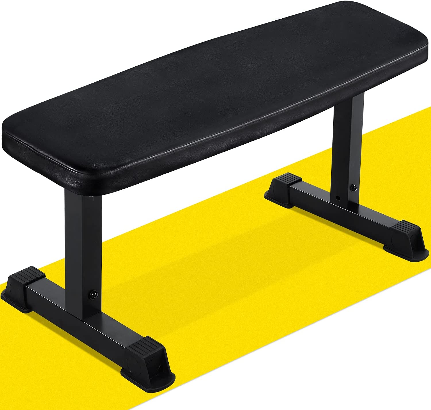 Flat Outstanding Weight Bench Capacity Workout 500lbs Fitness supreme Exercise