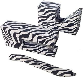Zebra Print Stationery Set (Stapler, Tape Dispenser & Staple Remover)