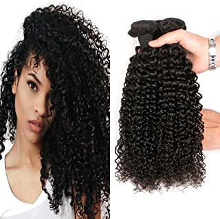 Kinky Curly Bundles Brazilian Kinkys Curly Hair Remy Jerry Curly 3 Bundles Unprocessed Virgin Human Hair Weave Weft Extensions Cheap Natural Color 8 10 12 Inch