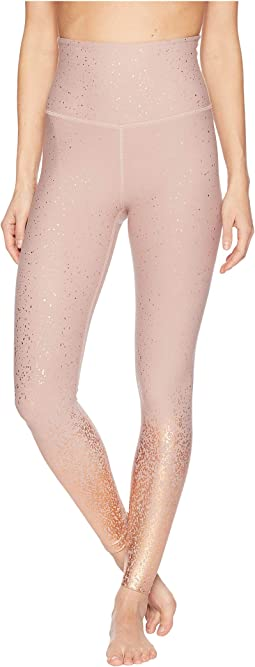 Alloy Ombre High-Waisted Midi Leggings