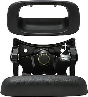 LLPTA Compatible with 99-06 Silverado/Sierra 1500 2500 3500 HD 07 Classic Body 2pcs Rear Truck Bed Tailgate Handle & Beze...