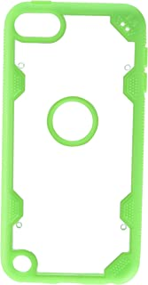 MyBat Cell Phone Case for Apple Devices - Retail Packaging - Clear/Green