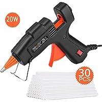 Tacklife GGO20AC Glue Gun with 30-Count EVA Glue Sticks
