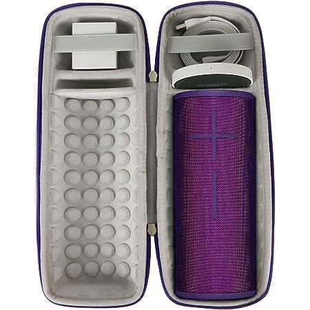 Khanka Hart Tasche Schutzhülle Für Ultimate Ears Ue Megaboom 3 Bluetooth Lautsprecher Case Passt Für Lautsprecher Und Ladestation Für Ue Megaboom 3 Ultraviolett Elektronik
