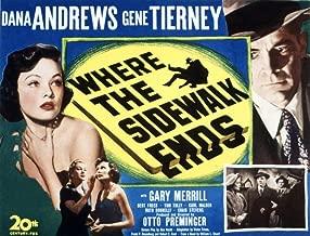 Posterazzi Where The Sidewalk Ends Gene Tierney Dana Andrews 1950 (C) 20Th Century Fox Tm & Copyright/Courtesy: Everett Collection Movie Masterprint Poster Print (28 x 22)