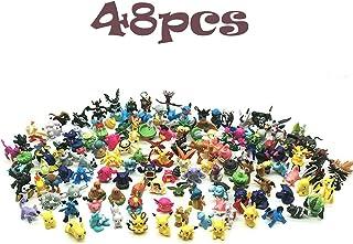 JIM - 48 pcs pokémon Figuras,Figura de Pokemon Adecuado para Fiestas, Regalos, fanáticos de Pokémon