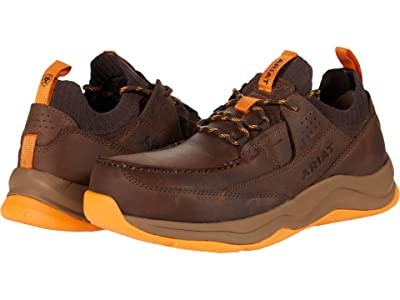 Ariat Working Mile (Brown/Work Orange) Men
