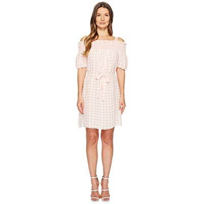Boutique Moschino Gingham Dress (Pink Gingham) Women