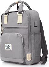 YAMTION Rucksack Damen und Herren Daypack Unisex,Schulrucksack Laptop Rucksack Frauen Tagesrucksack mit Laptopfach für 15....