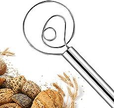 Sponsored Ad - Premium Danish Dough Whisk for Bread Making, Stainless Steel Food Grade Hand Mixer and Blender for Baking C...