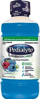 Pedialyteアドバンスケア経口補水液、ブルーラズベリーボトル、1リットル