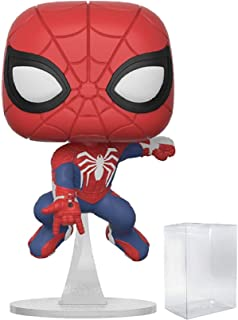 Marvel: Spider-Man Video Game - Spider-Man Funko Pop! Vinyl Figure (Includes Pop Box Protector Case)