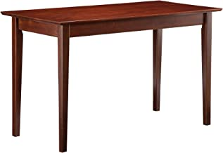 Atlantic Furniture Shaker Writing Desk, Walnut
