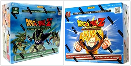 DragonBall Z Collectible Card Game Evolution and Perfection Booster Box Bundle, 1 of Each