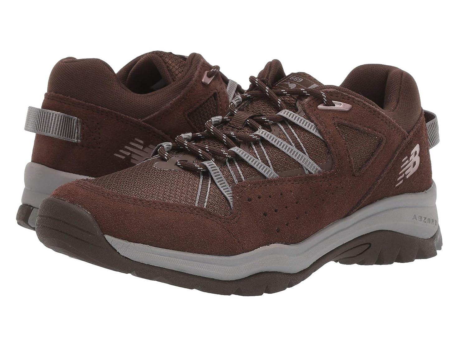 いつか円周冒険レディースウォーキングシューズ?靴 669v2 Chocolate Brown/Chocolate Brown 9 (26cm) B [並行輸入品]