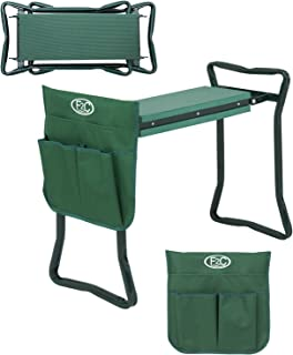 Garden Kneeling Pad Gardener Cushion Seat Stool Pouch Green 16