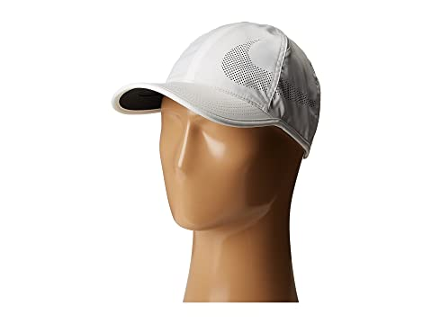Nike NikeCourt AeroBill Featherlight Tennis Cap at Zappos.com c18cda0e2307
