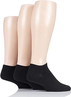 Pringle Black Label Mens Bamboo Trainer Socks Pack of 3