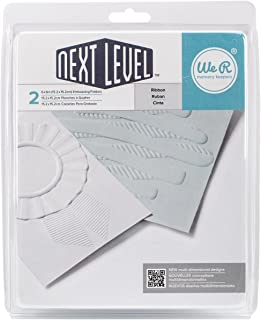 We R Memory Keepers cápsulas al Siguiente Nivel de plástico Carpetas para Estampados en Relieve x 15,24 cm 2 kg-Cinta para Lazos, Talla única