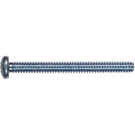 6-32-Inch x 3-Inch The Hillman Group 828462 Stainless Steel Pan Head Phillips Machine Screw 50-Pack