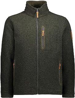 CMP Men's Giacca in Lana Wooltech Jacket, Oil Green Mel