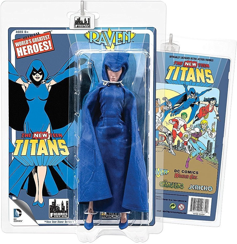The New Teen Titans Retro 8 Inch Action Figures Series 1  Raven by DC Comics B01GIN255U   eine große Vielfalt